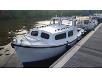 21ft seafarer- fishing boat