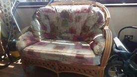 Furniture sofa, chairs, foot stool