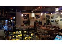 Sandwich chef + kitchen Assitant, daytime hours, Sunday off, well rewarded job