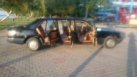 Mercedes Benz w124 250 D 6 door LWB limousine ( 776 producted)