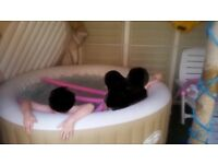 Lay Z Spa 4-6 Person Palm Springs Ex Condition