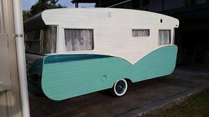Vintage caravan completely restored Viscount Bonogin Gold Coast South Preview
