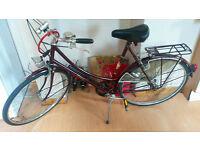 Vintage Raleigh Dutch Style Ladies Bike