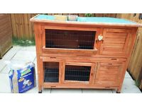 Two Storey Rabbit Hutch for Sale