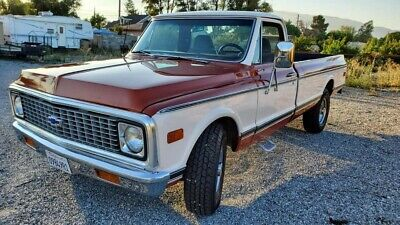 1971 Chevrolet C20/K20 Camper Special 1971 Chevrolet C20/K20 Pickup Red RWD Automatic Camper Special