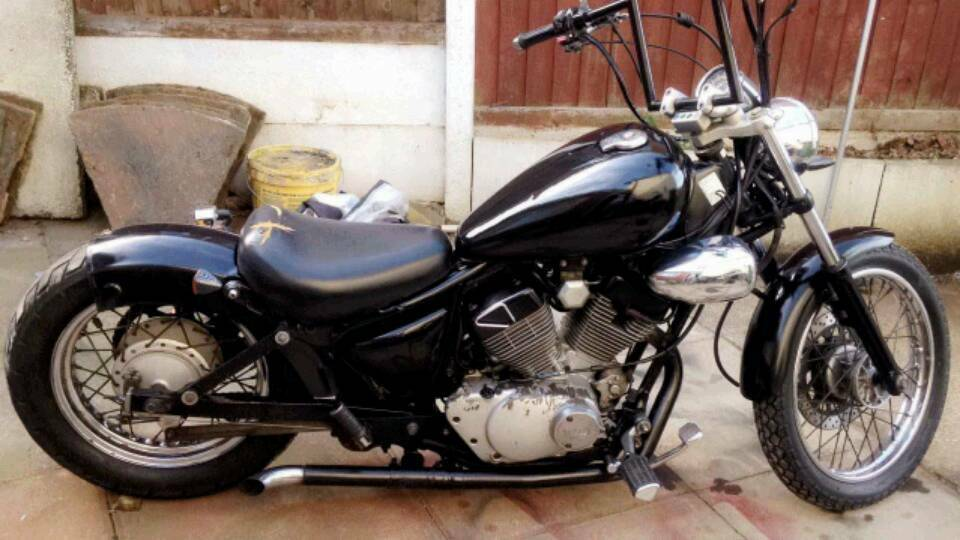 yamaha virago 125 bobber build hobbiesxstyle. Black Bedroom Furniture Sets. Home Design Ideas