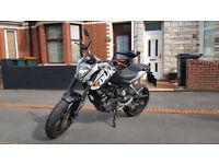 KTM Duke 125cc 2012