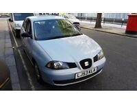SEAT Ibiza 1.4 16v Sport 5dr/2003/Petrol/Manual/ Long MOT/1 OWNER from new. Drivers super.