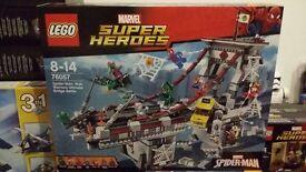 [NEW] LEGO 76057 Spiderman bridge set