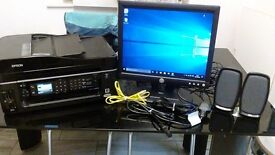 "Good Condition Dell LCD(""15"") display Monitor & EPSON Printer + Cabling & Goods For Sale(Birmingham)"
