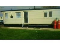 8 birth caravan on sand le mere to let
