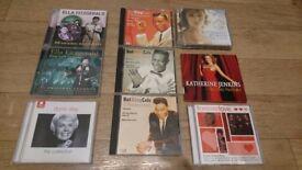 CD Bundle- Ella Fitzgerald, Doris Day, Nat King Cole & Katherine Jenkins