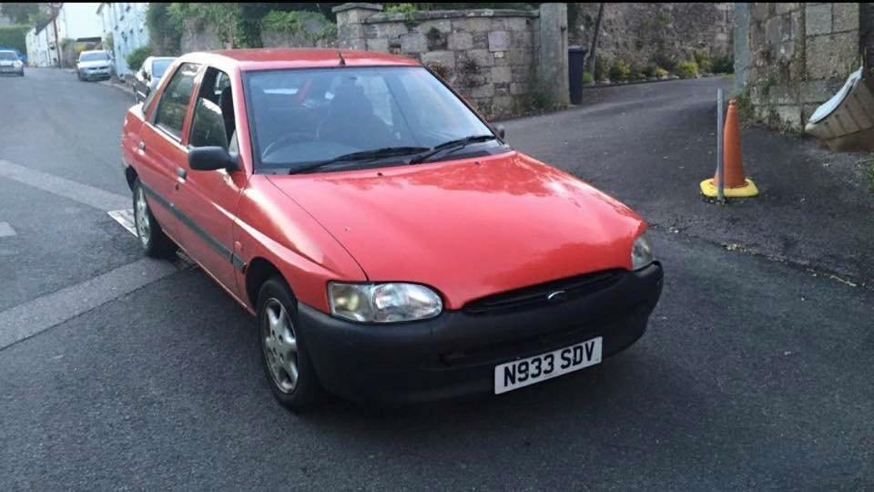 ford escort with new mot in bodmin cornwall gumtree. Black Bedroom Furniture Sets. Home Design Ideas