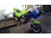 1980s Suzuki xn85 project