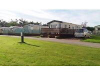 BRAND NEW STATIC WITH PATIO DOORS SITED ON PITGRUDY HOLIDAY PARK, DORNOCH
