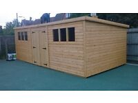 Custom Sheds- custom made sheds and summerhouses to size