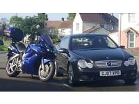 Bike and car for sale