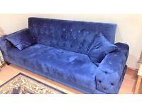 🤘🏻💓MEGA SALES TURKISH DESIGN FABRIC STORAGE SOFA BEDS SETTEE BLACK BROWN GREY SOFABED