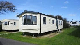 SOLD BUT OTHERS AVAILABLE 3 BED CARAVAN AT LYDSTEP NEAR TENBY, PEMBROKESHIRE