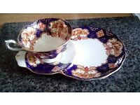 Cup and Saucer / sandwich plate. Royal Albert