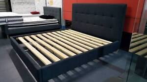 new UPHOLSTERED QUEEN KING BED FRAME finance available Bundall Gold Coast City Preview