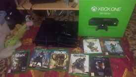 xbox one with 1 GAME OF YOUR CHOICE BUT NOT FAR CRY etc