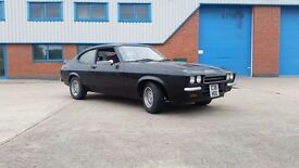 ford capri 2.0 classic car, on road project, lots of spares parts, retro, barn find