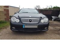 MERCEDES C180,C200,C230,W203,COUPE AMG BODY KIT,BREAKING,PARTS for sale  East London, London