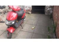 For sale - Scooter KEEWAY 50cc - Starts first time - quick sale only £140