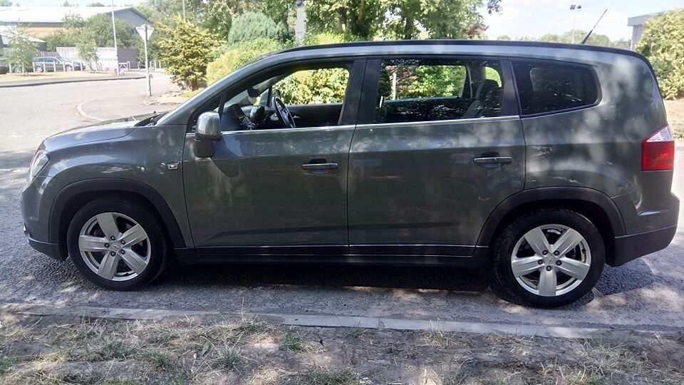 Family Car 7 Seater Diesel Chevrolet Orlando 20 Vcdi Ltz 5 Doors