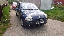 2001 Renault Clio Etoile, 1.6 16V, Manual, 5 Door, 12 Month MOT