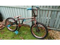 "Mongoose bmx boys bike, Odyssey wheels, 20"" frame and wheels"