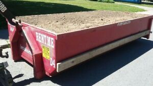Dirt or Concrete Bins Available.