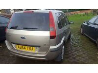Ford fusion 1.4 diesel 125k. Perfect condition. MOT june 2018