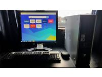HP Desktop Computer PC with Monitor for sale  Bedfordshire