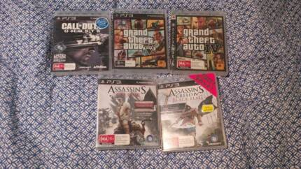 All these for $60 - PS3 games New Farm Brisbane North East Preview