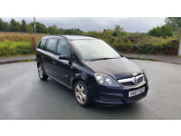 2007 VAUXHALL ZAFIRA 7 SEATER 1.9 CDTI MANUAL MOT TILL FEB 2019 £1000 no offers