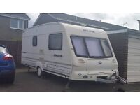 bailey senator vermont 2 berth millenium 2000 model service history well maintained must be seen