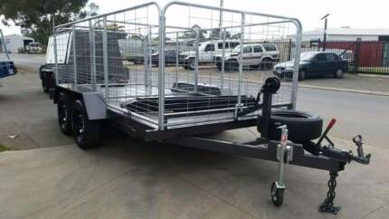 CAGED CAR TRAILER/ MULTI PURPOSE TRAILER