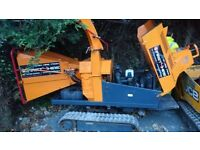 """6"""" Tracked Chipper"""