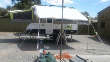 Jayco Swan Outback Late 2016 Near New Condition