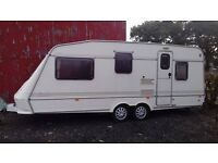 Elddis Tynedale 4-5 berth twin axle caravan
