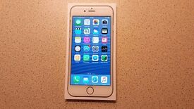 Iphone 6. 64GB model. White and silver.