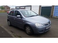 corsa 1.2 design 5 door 2006 06 steel grey metallic only 86,000 miles 2 keys taxed & mot september
