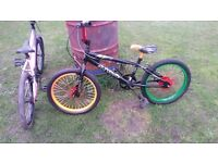 funky bmx sprayed bike rebuilt and serviced today from scratch is a 1 off £35 collection wakefield