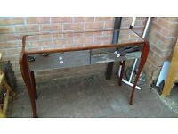mirrored hall table - free local delivery available