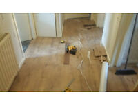Laminate/hardwood floor fitter - call now for free estimates