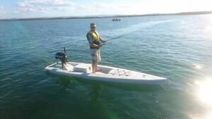Solo Skiff, Excellent stability, and fishing Clontarf Redcliffe Area Preview