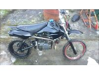 For sale 110cc pitbike all runing £165 ono