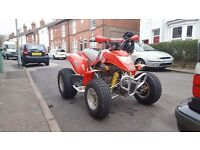 apache barossa 250 CC road legal quad with spare engine.
